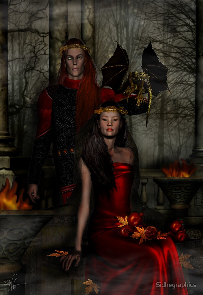 Dancing Leaves on Sleeping Branches~Samhain 2007 by Sidhegraphics