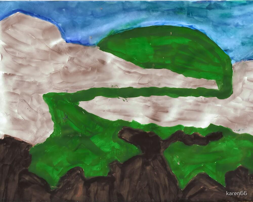 Scenery Painted by karen66