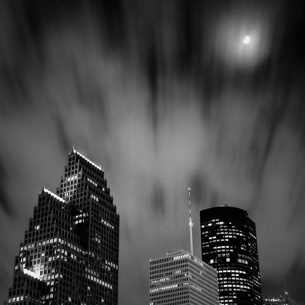 Houston di Notte by Michael Mancini