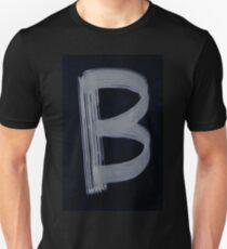 0132 -  Brush and Ink - B T-Shirt