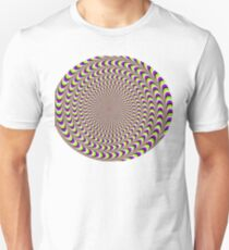 PLAID OPTICAL ILLUSION Unisex T-Shirt
