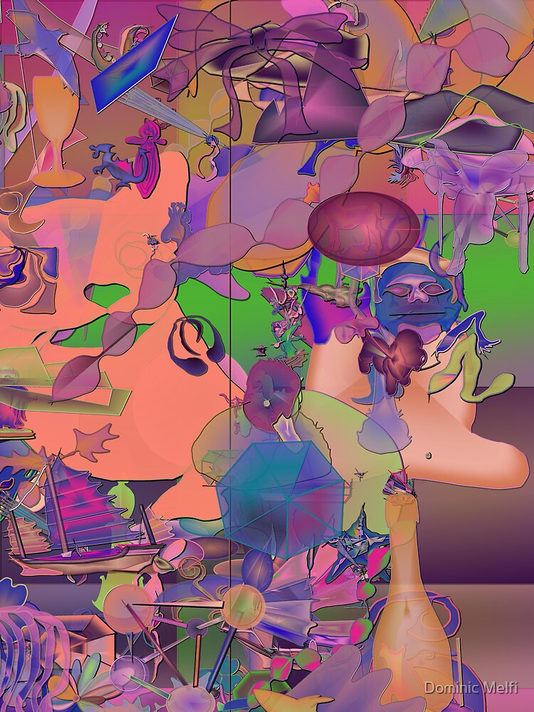 Abstract in random ryme by Dominic Melfi