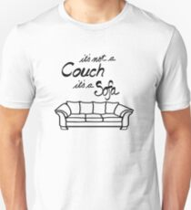It's Not a Couch its a Sofa T-Shirt