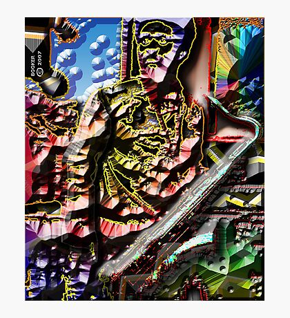 PHAROAH SANDERS/Look to the HILLS, from whence... Photographic Print