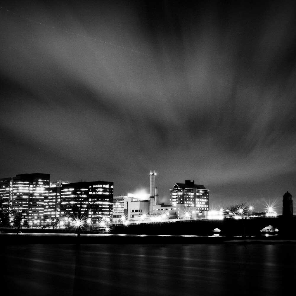 Over MIT at Night by Michael Mancini