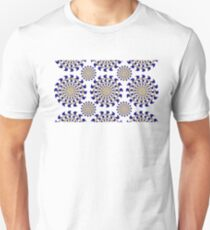 TAN BLUE ILLUSIONS T-Shirt