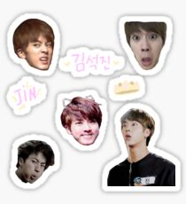 BTS JIN - Sticker Sheet Sticker