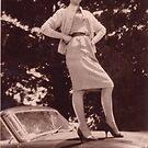 Memories of the Fifties Austin A 90 #2 by Virginia McGowan