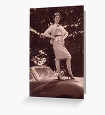 Memories of the Fifties Austin A 90 #2 Greeting Card