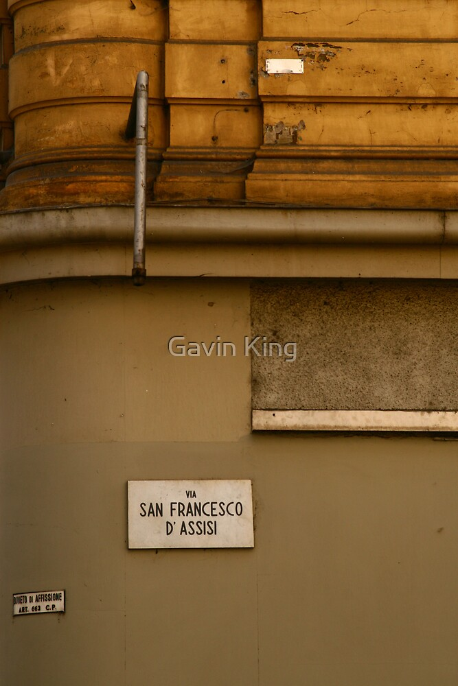 Streets Apart by Gavin King