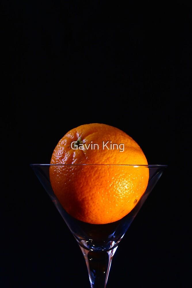 Orange Cocktail by Gavin King