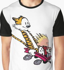 calvin and hobbes speed Graphic T-Shirt