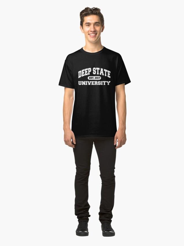 Alternative Ansicht von Deep State Universität | 2017 Classic T-Shirt