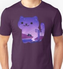 cat night Unisex T-Shirt