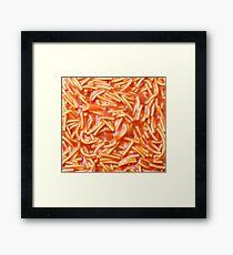 Canned Spaghetti  Framed Print