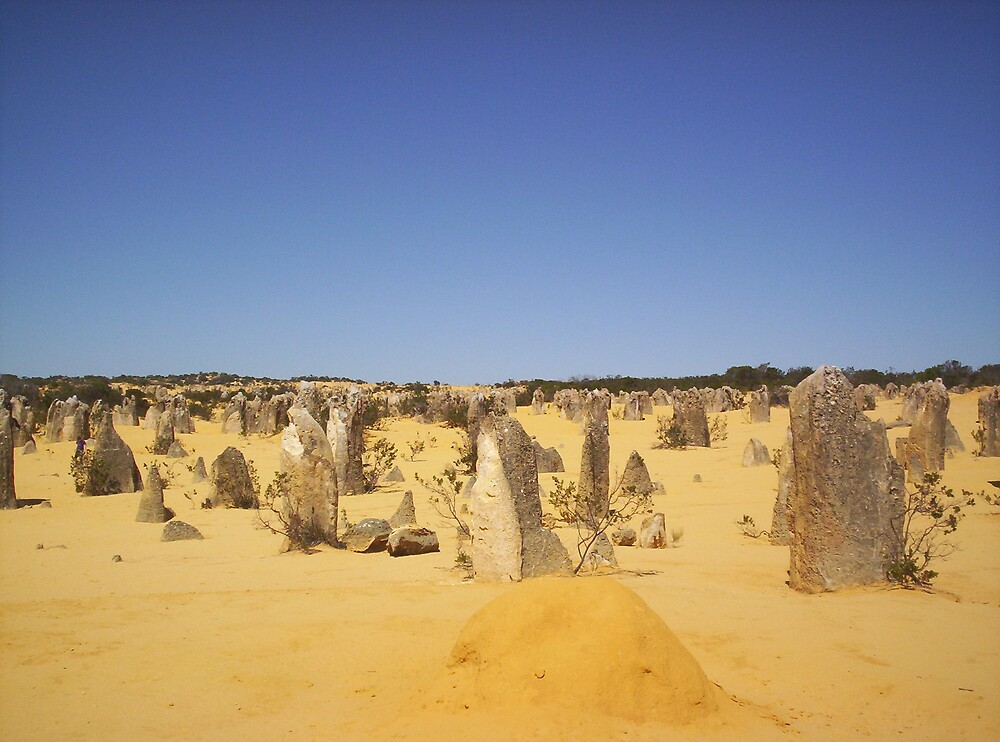 Pinnacles by clairet
