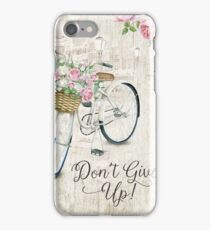 DON'T GIVE UP! (Design no. 6) iPhone Case/Skin
