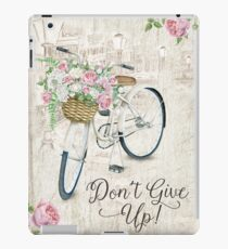 DON'T GIVE UP! (Design no. 6) iPad Case/Skin