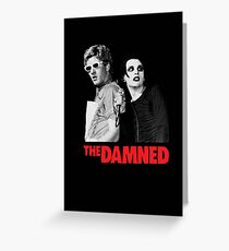 The Damned Greeting Card