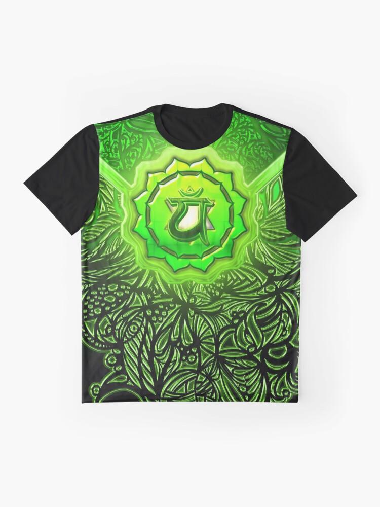 Alternative Ansicht von Herz Chakra Anahata Grafik T-Shirt