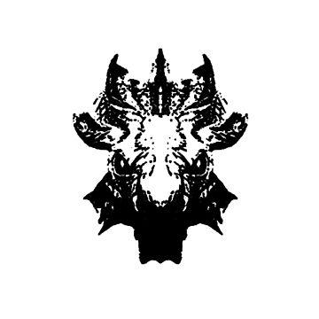 Blood Dragon Skull by spartan4279
