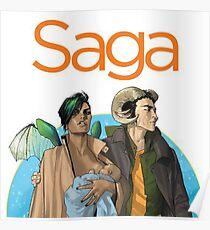 Saga - Comic Poster
