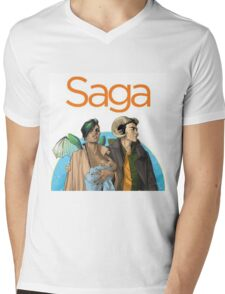 Saga - Comic Mens V-Neck T-Shirt