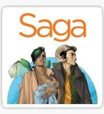 Saga - Comic Sticker