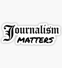 Journalism Matters Sticker
