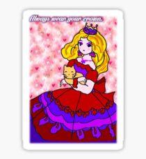 Always wear your Crown Sticker