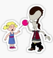 Roger takes away candy (Ricky Spanish) Sticker