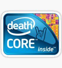 Deathcore Inside Sticker