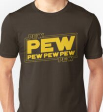 Star Wars Pew Pew! Unisex T-Shirt