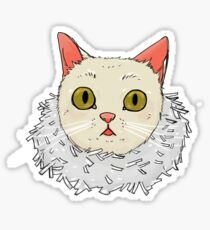 Tinsel Cat Sticker