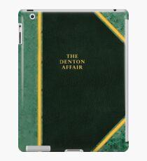 The Denton Affair Cover iPad Case/Skin