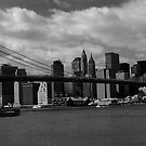 brooklyn Bridge by grayscaleberlin