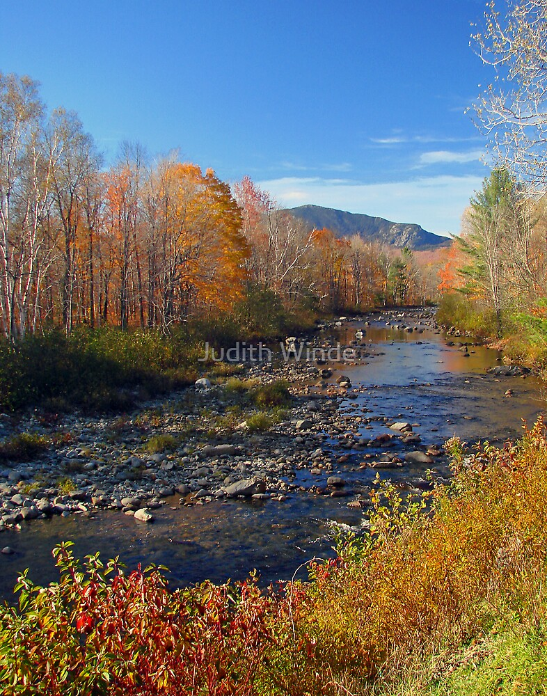 Carrabassett River, Maine by Judith Winde
