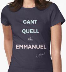 Emmanuel Macron Womens Fitted T-Shirt