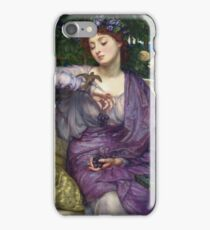 Edward Poynter - Lesbia And Her Sparrow 1907 iPhone Case/Skin