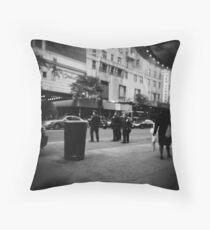 the Cops Throw Pillow