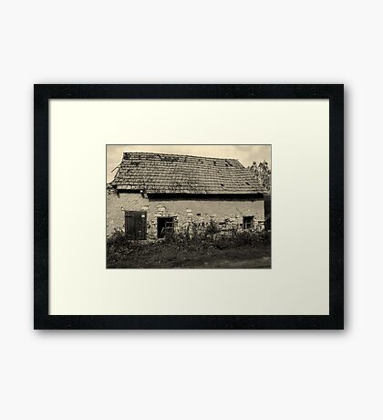 HOME ? Framed Print