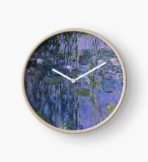 Claude Monet - Water Lilies Clock