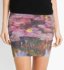 Claude Monet - Water Lilies Mini Skirt