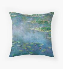Claude Monet - Water Lilies Throw Pillow