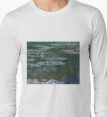 Claude Monet - Water Lilies Long Sleeve T-Shirt