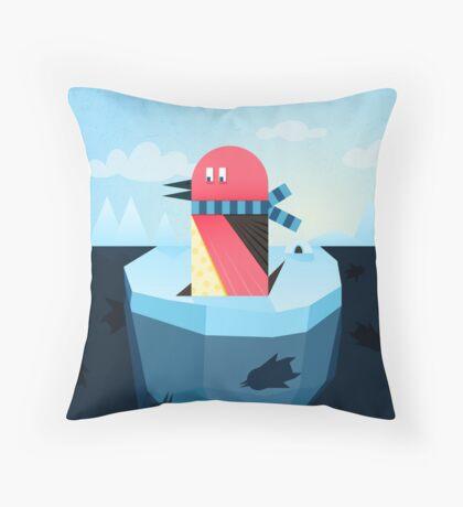 pinguin Throw Pillow