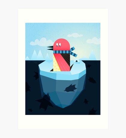 pinguin Art Print