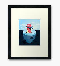 pinguin Framed Print