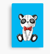 cute little panda bear Canvas Print