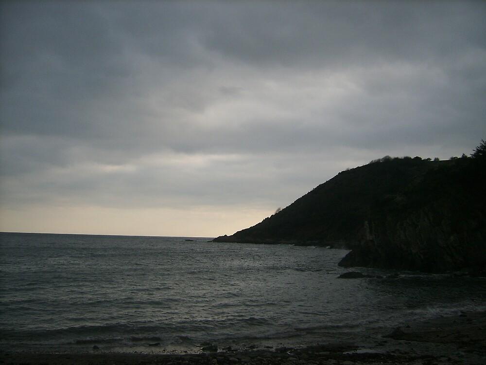 Polperro Beach  by jenity